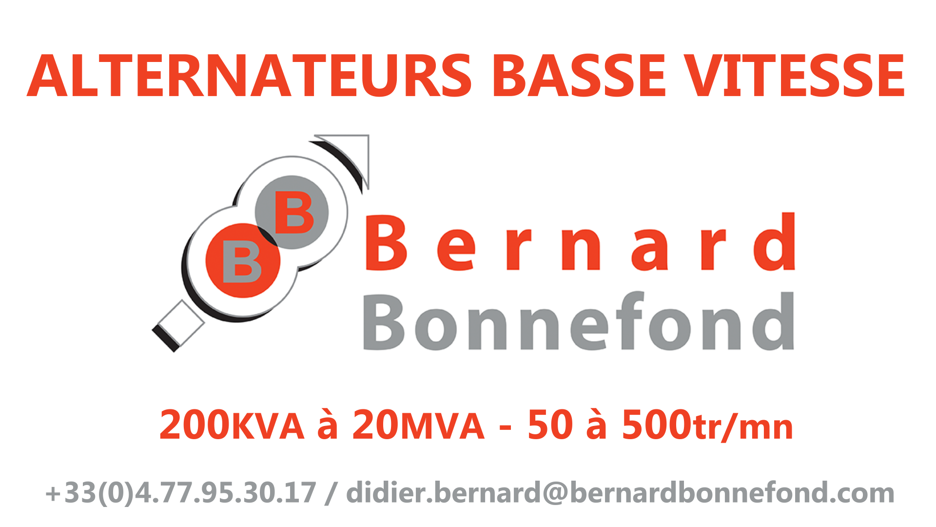 B&b ALTERNATEUR V4